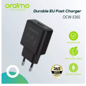 Oraimo OCW E36S Charger With Micro USB Charging Cable