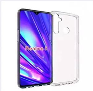 Realme 5 / Realme 5i / Realme 5S / Realme 6i Premium Silicone Case Crystal Clear Soft TPU Ultra-Thin