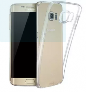 Samsung Galaxy S7 Edge Clear Soft TPU Ultra-Thin Transparent Mobile Back Cover