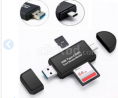 2 in 1 SD Card Reader USB 3.0 OTG Micro USB Type C Card Read Brand New