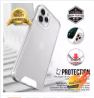 Space Full Clear Shockproof Acrylic Case For iPhone 12 11 Pro XS Max Mini XR X 6 6S 7 8 Plus SE 2020