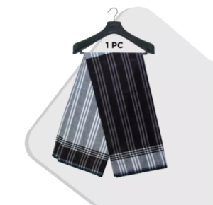 1 Pc 5 Hat multi color Cotton Made Traditional Lungi For Men/Boys_৫ হাত দেশি সে�