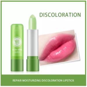Aloe vera 99% sooting gel lipstrick pink colour 1 piece