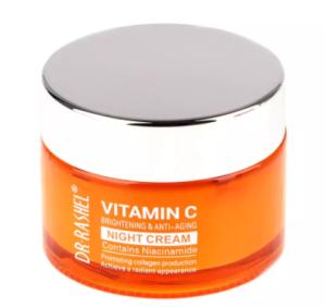 Dr. Rashel Vitamin C Brighte-ning & Anti-Aging Face Cre-am - 50g