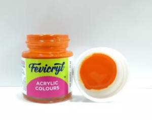 Fevicryl Acrylic Colour Orange -15 ml