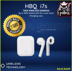 HBQ i7s TWS Bluetooth Stereo In-Ear Earbuds with Charging Box-1 Pair-Duel Ear. 4.2 Bluetooth Connect