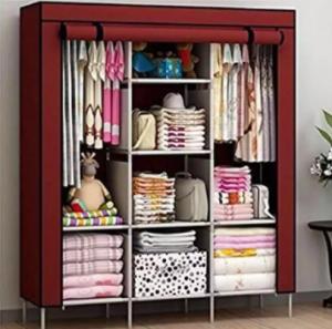 HCX Wardrobe Storage Organizer for Clothes Big Size - Multicolor