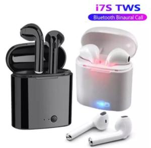 i7S TWS Double Dual Mini Wireless 4.1 Bluetooth Earphone With Power Case - White