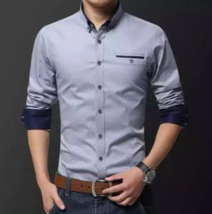 Long Sleeve Casual Shirt for Men