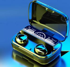 M10 TWS Wireless Earphone Touch Bluetooth Earplugs In The Ear Stereo Sport Headsets CVC8.0 Noise Red