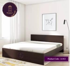 Malaysian Process Wood (MDF) khat/bed Double