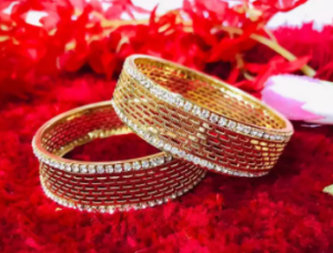 New Gold Plated Bangles churi for Women