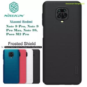 Nillkin Super Frosted Shield Matte Cover Case For Redmi Note 9 Pro / Note 9 Pro Max / Note 9S / Poco