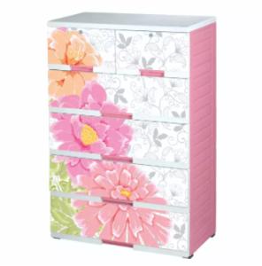 Platinum Wardrobe- Daisy - 5 Step - Pink White