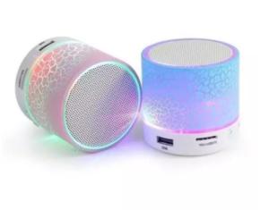 Wireless Bluetooth LED Speaker TF USB FM Portable Music Mini Speaker.