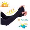 Arm Hand Sleeve Sun Hand Protection Fingerless Gloves Section Drove UV Sunscreen Half Finger Long Gl