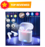 i7s TWS Mini Wireless Bluetooth Earbuds with Charging case and Mic - White