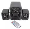 Kisonli - U2500BT USB 21 Computer Speaker with FM, Bluetooth