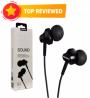 Remax RM 501 In Ear Earphone Stereo Headset Metal Body